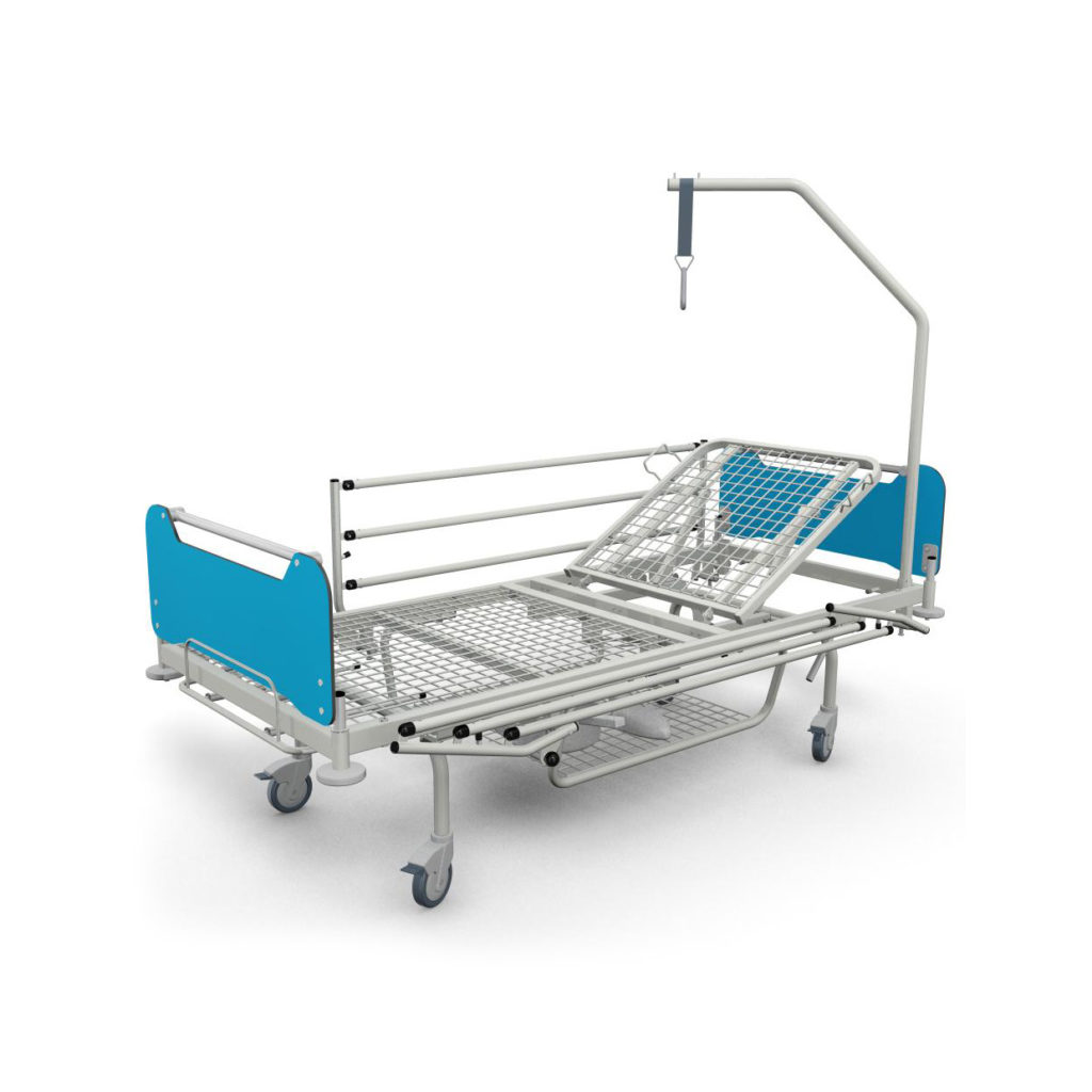 łóżko Szpitalne Lp 013 Do Pielęgnacji I Leczenia Pacjenta