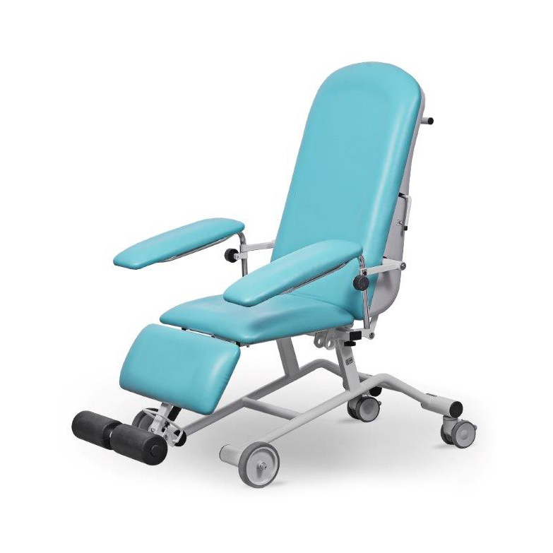 FoZa Basic Mobil fotel zabiegowy z kołami do injekcji i dializ