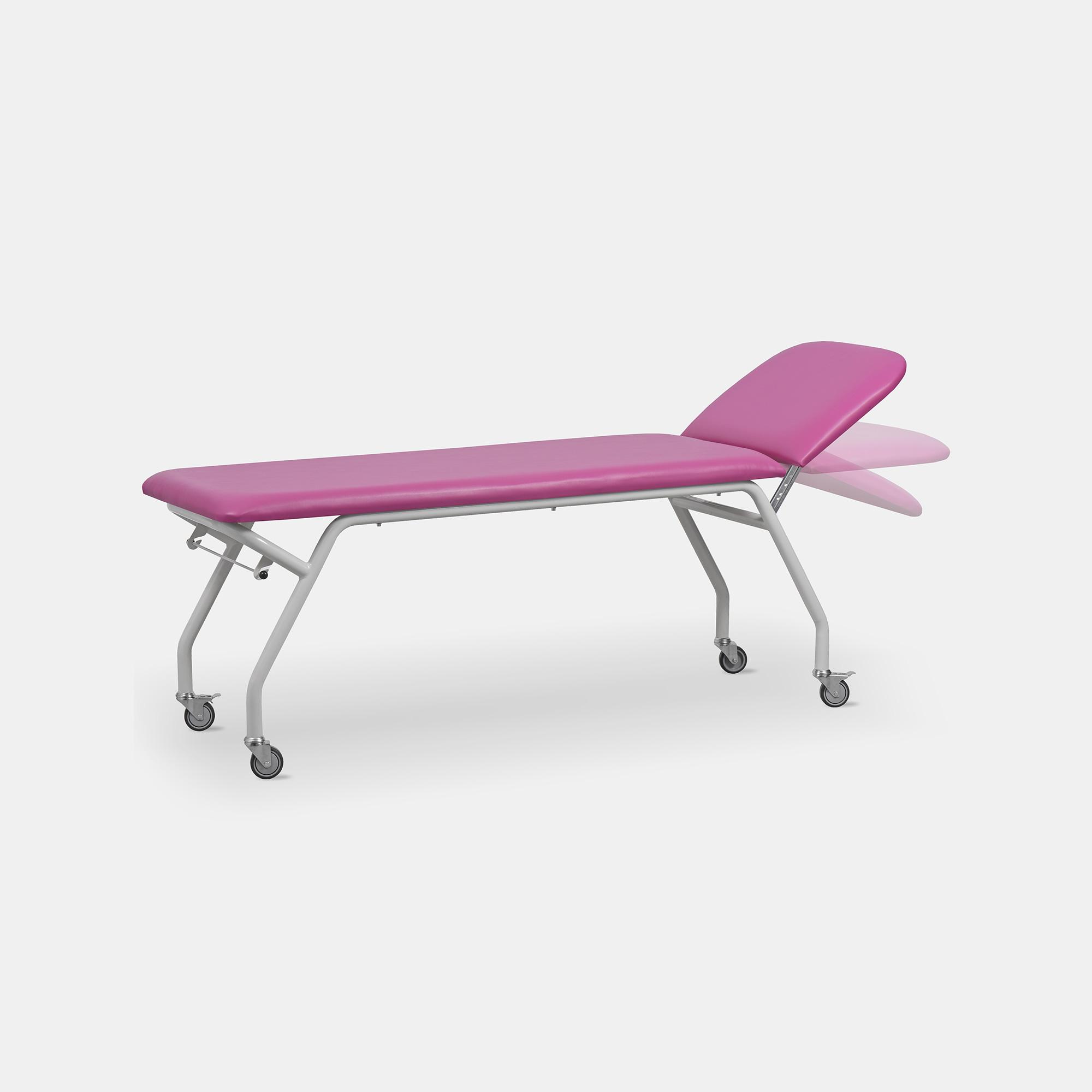 Sto Re Basic kozetka stół do rehabilitacji z kołami i regulacją leża
